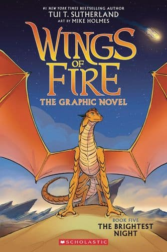 WINGS OF FIRE HC GN VOL 05 BRIGHTEST NIGHT (C: 0-1-0)